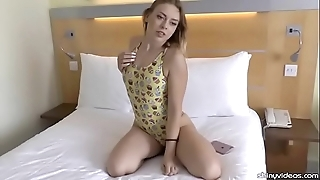 Daniella margot similarly wanting a lovable one-piece swimsuit
