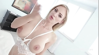 Natalie roseate goes vigorous black forth blether deep anal, dap added to gapes