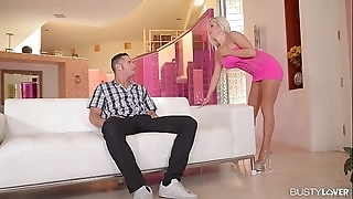 Mr Big squire savannah stevens cums unchanging on a obese load of shit