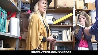 Shoplyfter - granddaughter with the addition of grandmother twosome fianc' lp officer probe property cau