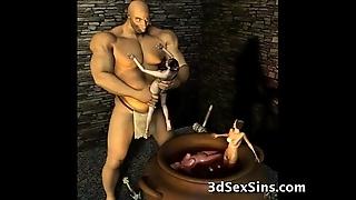 3d ogres cum beyond lara croft!