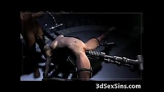 3d robots vs werewolves!