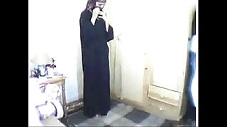 Arab main praying able-bodied masturbating