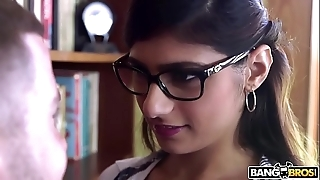 Bangbros - mia khalifa is about coupled with hotter than ever! bust tingle out!