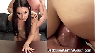 Trap creampie, foremost anal casting