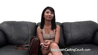 Shocking casting sofa response (and creampie)