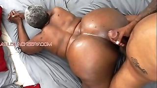 Fat booty Stygian granny