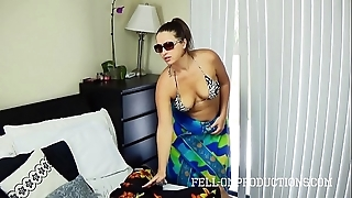 Sexy milf give the matter of big nuisance bonks give bootlace bikini