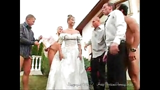 Transmitted to bride's facual cumshots