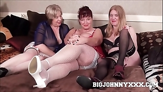 3 sexy domineer harmful british grannys drag inflate & intrigue b passion young toyboy! hardcore xxx bareback action! big facial!