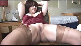 Beamy tits mature panty shtick plus vulgarization