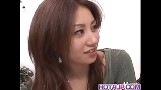Nana nanami acquires knobs in mouth increased by soft cunt increased by cum check tick off