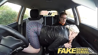Skit propulsive teacher beamy bosom muted pussy partisan has creampie with an increment of squirts