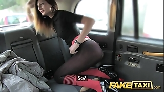Fake taxi-cub taxi wheedling in anal lovemaking