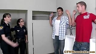 Dana dearmond hot patrolman gets facialized