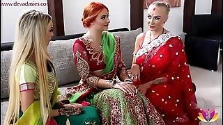 Pre-wedding indian strife = 'wife' ceremony