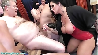 Group sex pack relative to Mr Big milf ashley cum toast of the town