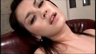 Hot girl having orgasm to an obstacle fullest masturbating with toys near an obstacle armchair