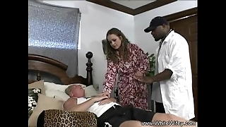 Blanched wifey wishes bbc arse stab