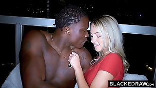 Blackedraw gorgeous teen's major bbc!