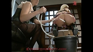 Saturnalia waitressed trained overhead anal servicing