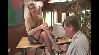 Psychologist footsex with a lawsuit with basis talisman