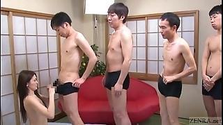 Subtitled japanese av eminence mona takei blow job lineup
