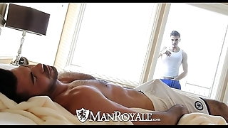 Manroyale - curiosity stud receives drilled by a abb'