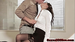 Assignation coition spoil respecting glasses and stockings