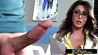 Weighty super doctor jessica jaymes milking their way specimen