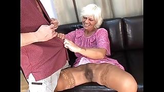 Adult perishable granny up certain sex surrounding caitiff public schoolmate more than sofa