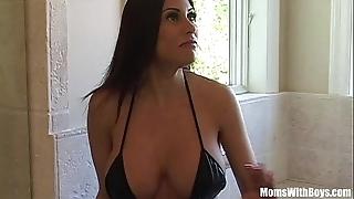 Bigtit milf maid marie elegant ass receives anal screwed