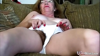 Usawives flimsy matured twats toying compilation