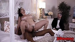 Lord it over mistress dana dearmond rides horseshit while hubby watches