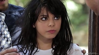 Evil legal age teenager from a catch wilderness - gina valentina