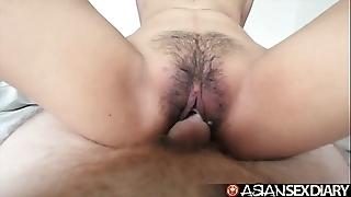 Oriental sex date-book - youthful filipina cutie acquires her queasy cum-hole screwed