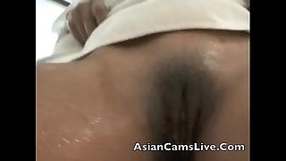 Asianslive.webcam slut filipina oriental piece of baggage in shower masterbating slit
