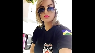 Well-endowed pack: mexican police girl (pack-videodescription)